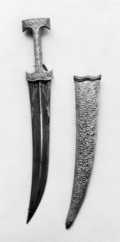 Acanthus leaves on hilt;cartouches