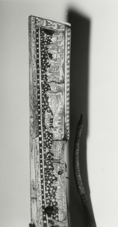 "Sporting Crossbow and Winder (""Cranequin"") with Decoration of Hunting Scenes"