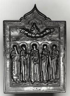 Five Saints with Christ