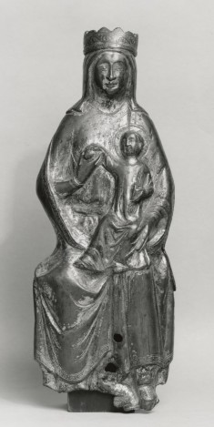 Appliqué Figure of the Madonna and Child