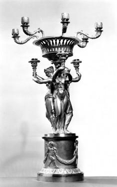 Candelabrum from a Garniture