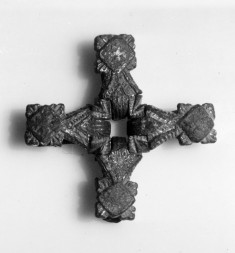 Bridle Ornament in form of a Cross
