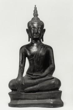 """Seated Buddha in """"Maravijaya"""""""