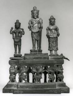 Pedestal with Deities