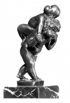 """Putti"" Playing Piggy Back"