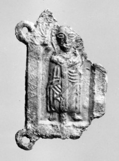 Pilgrim's Badge with Saint