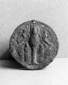 Pilgrim Token with Saint Symeon Stylite the Younger