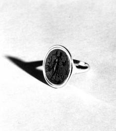 Ring with Intaglio of Saint John the Baptist