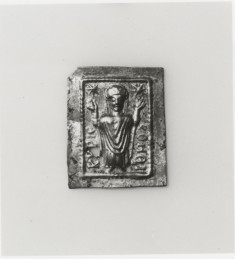 Votive Plaque with a Female Saint