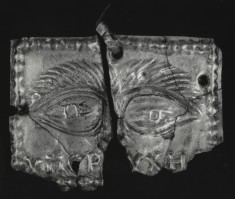 Votive Plaque with Eyes