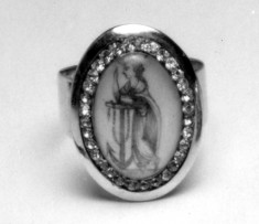 Ring with Figure of Hope