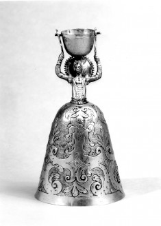 Marriage Cup in the Form of a Lady