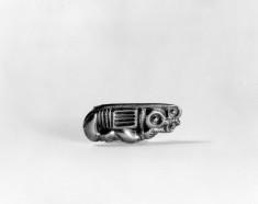 Celtic brooch of zoomorphic design