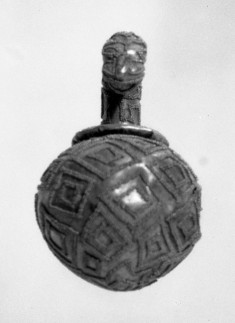 Spherical Ornament with Animal-Head Cover