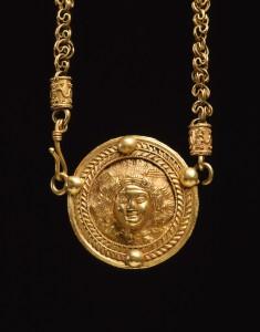 Necklace with Medusa Medallion