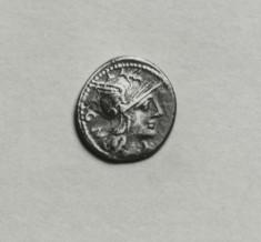Denarius of M. Aburius Geminus