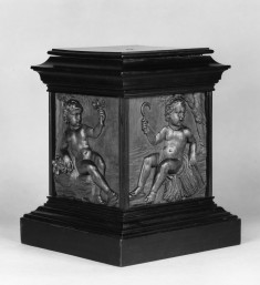 Pedestal with Representations of the Four Seasons