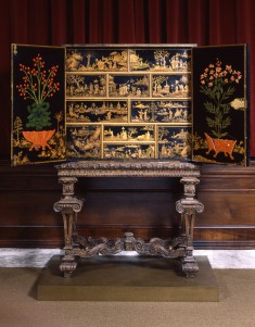 Cabinet with Chinese and American Motifs