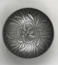 Sake Cup (sakazuki) in the Form of a Chrysanthemum
