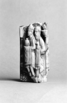 Fragment with Figures from Two Scenes