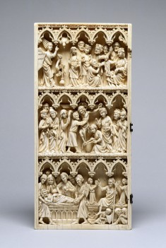 Left Diptych Leaf with Scenes of the Passion