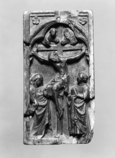Right Leaf of a Diptych with the Crucifixion