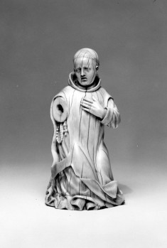 Figure of a Carthusian Monk, Possibly Saint Bruno