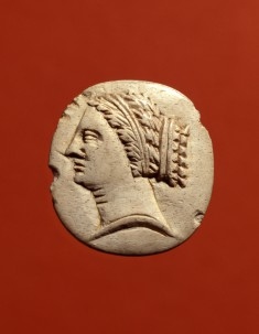 Medallion with a Woman's Head in Profile