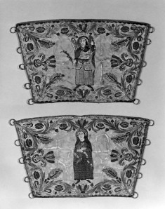 Liturgical Cuffs with the Annunciation