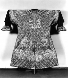 Mandarin's robe; Ten Imperial symbols: sun, moon, shou,..