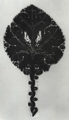 Garment Decoration with Branch of a Tree and Two Birds