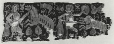 Wall Hanging or Curtain Fragment with Hunt Scene