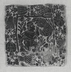 "Garment Decoration (""Segmentum"") with Man Killing Panther"