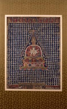 Ushnishavijaya with Stupas