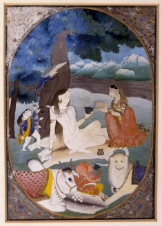 Shiva and His Family