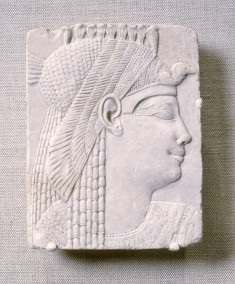 Relief: Queen or Goddess with Vulture Headdress