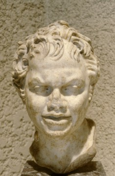 Head of a Young Satyr