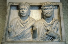 Funerary Relief of a Husband and Wife