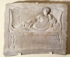 Funerary Stele of Aurelia Artemis