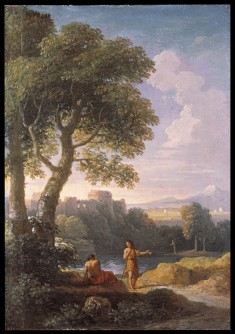 "Landscape of the Roman ""Compagna"""
