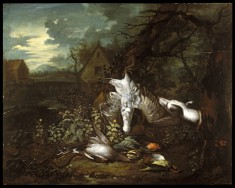 Still Life with Dead Game Birds