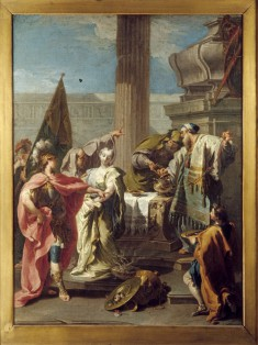 The Sacrifice of Polyxena at the Tomb of Achilles