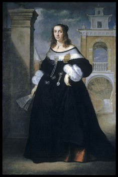 Portrait of Margherita, wife of Baldassare Vandergoes