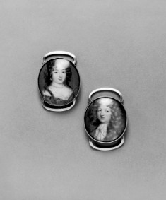 Portraits of Louis Bourbon and Marie-Adelaide of Savoy, Duke and Duchess of Burgundy