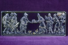 Plaque with Abraham and Melchizedek