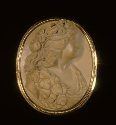 Brooch with the Head of a Bacchante