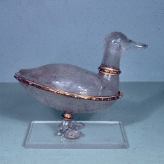 Covered Bowl in the Shape of a Duck