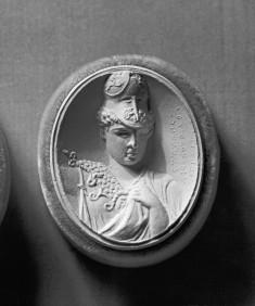 Pendant with an Intaglio of Pallas Athena