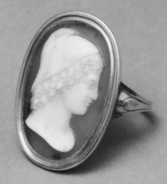 Ring with Cameo of Ganymede