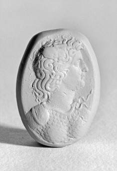 Intaglio with Bust Wearing Aegis